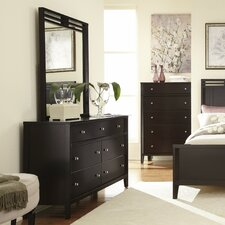 Beckett 7 Drawer Dresser with Mirror