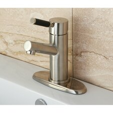 Kaiser Single Handle Bathroom Faucet with ABS Pop-Up Drain