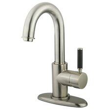 Showerscape Single Handle Bathroom Faucet with Push Pop-Up Drain