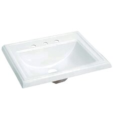 Concord Single Bowl Drop-In Lavatory Sink
