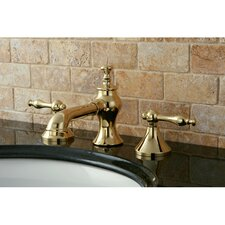 Naples Double Handle Widespread Bathroom Faucet with Pop-Up Drain