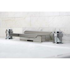 Milano Double Handle Waterfall Roman Tub Faucet
