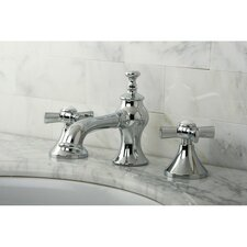Millennium Double Handle Widespread Bathroom Faucet with Pop-Up Drain