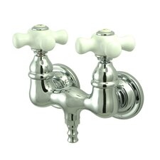 Vintage Wall Mount Clawfoot Tub Faucet