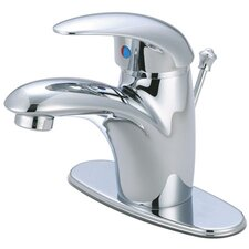 Wilton Single Handle Bathroom Faucet with ABS Pop-Up Drain and Deck Plate