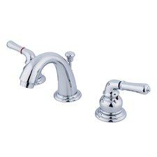 Magellan Double Handle Widespread Bathroom Faucet with 50/50 Pop-Up Drain