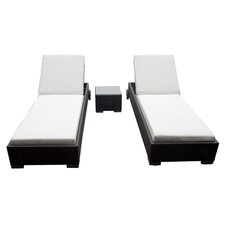 Liegen-Set mit Sitzauflagen