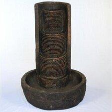 Säulenbrunnen aus Kunststoff