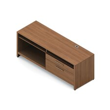 "Princeton 27"" H x 72"" W Desk Equipment Shelf"