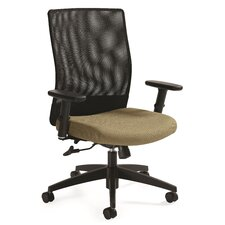 Weev Mid-Back Tilter Chair with Arms