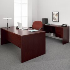 Genoa Executive Desk with Knee Space