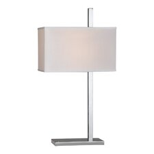 "Lino 27"" H Table Lamp with Rectangular Shade"