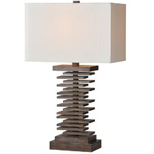 """Cosma 29"""" H Table Lamp with Rectangular Shade"""
