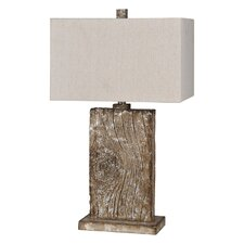 "Erindale 28"" H Table Lamp with Rectangular Shade"