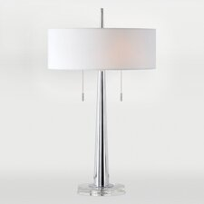 """Chios 29"""" H Table Lamp with Drum Shade"""