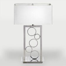 "Oslo 26"" H Table Lamp with Rectangular Shade"