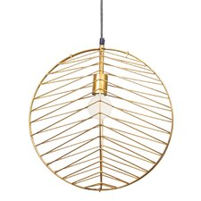 Ragtime 1 Light Globe Pendant