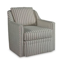 Hollins 360 Degree Swivel Accent Arm Chair