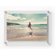 Double Panel Floating Picture Frame