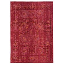 Expressions Oriental Pink Area Rug