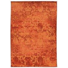 Expressions Oriental Orange Area Rug