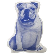 MINI English Bulldog Throw Pillow