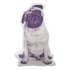 MINI Pug Throw Pillow