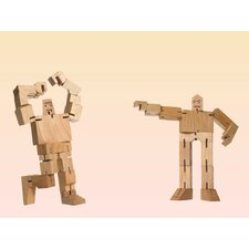 40 Piece Micro Julien and Guthrie Cubebot Sculpture Set
