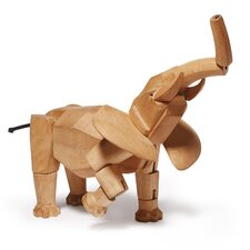 David Weeks Hattie the Elephant Figurine