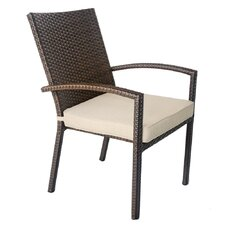 Dining Arm Chair with Cushion (Set of 4)