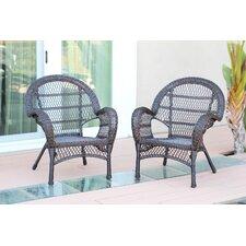 Wicker Armchair Chair (Set of 2)