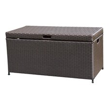 Outdoor 70 Gallon Wicker Deck Storage Box