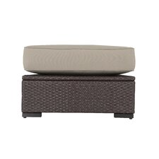 Sterling Falls Ottoman with Cushion