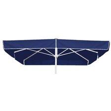3 m Schirm mit Volant Quadro