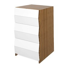 Planar 3 Drawer Nightstand