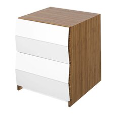 Planar 2 Drawer Nightstand