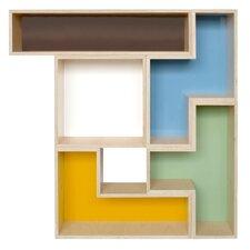 "Tetrad Flat 54"" Cube Unit Bookcase"