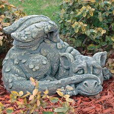 Statue Blushing Babel the Bashful Dragon