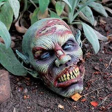 Statue Zombie Skull