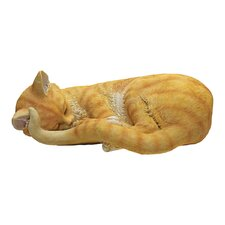 Statue Sleeping Cat
