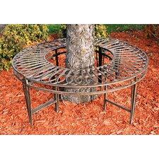 Gothic Garden Division Steel Circular Tree Seat