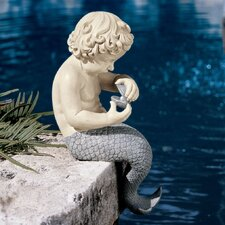 Statue Ocean Little Treasure Sitting