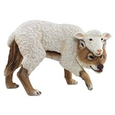 Statue Wolf in Sheeps Clothing