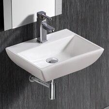 Wall MountedRectangularCompact Sink