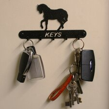 Horse 15cm Key Holder