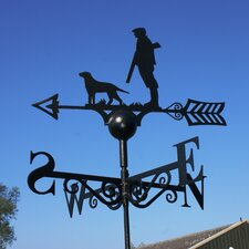 Man and Dog Weathervane