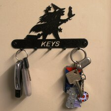 Witch 15cm Key Holder