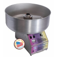 Spin Magic 5 Cotton Candy Machine with Metal Bowl