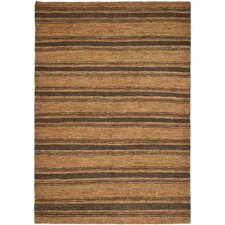 Cliff Stripe Brown / Tan Area Rug