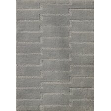 Edison Gray Ripple Area Rug